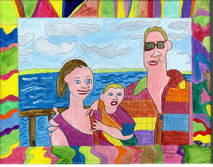 Balks-Russel Family Portrait