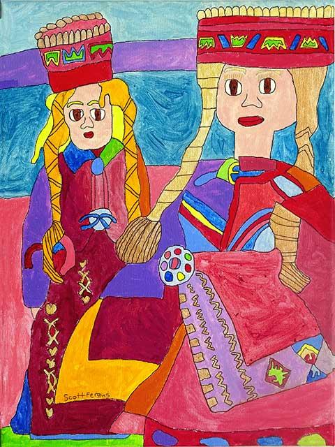 Latvian Dolls