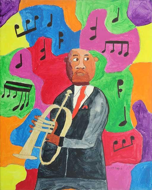 Trumpet Player 2